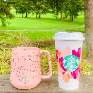 💕LAST ONE💕Starbucks Heart Mug & Hot Cup Bundle